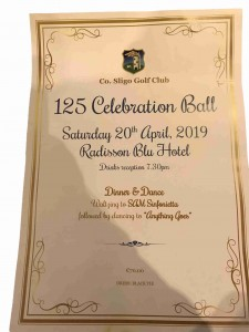125 Year Celebration Ball